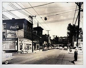 "Original Charles ""Teenie"" Harris Photograph featuring Hamilton Ave., Pittsburgh, PA: Harris..."