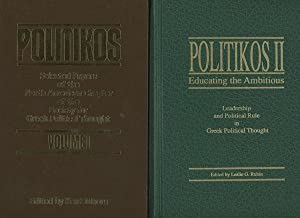 Politikos, 2 Vols.--Volume 1: Selected Papers of the North American Chapter of the Society for ...
