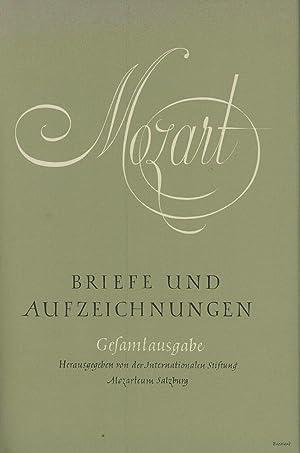 Mozart, Briefe und Aufzeichnungen, Band VII: Register;: Mozart, Wolfgang Amadeus;