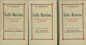 Stella Matutina; Meditazioni Quotidiane Sui Vangeli Festivi Dell'Anno Liturgico; 3 Vols.--Vol....