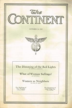The Continent Vol. 46 No.42 - October 21, 1915: Williamson, Oliver R.; Nolan R.Best