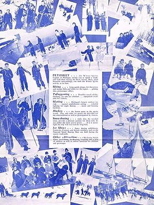 Petoskey Winter Sports: Sports Capital of Michigan (brochure & program): n/a