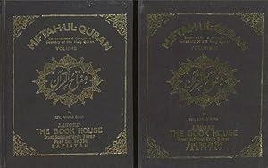 Miftah-ul-Quran, Concordance & Complete Glossary of the: Shah, Ahmad; Ahmad