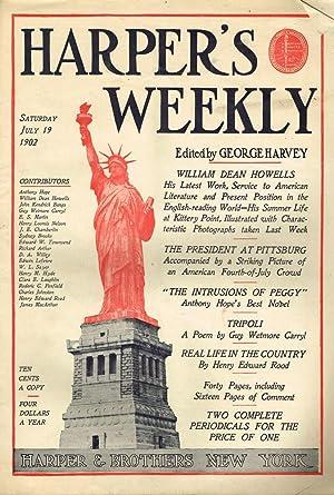 Harper's Weekly for Saturday, July 19, 1902: Harvey, George (ed.)