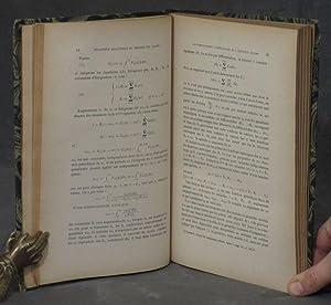 Mecanique Analytique et Theorie des Quanta par. G. Juvet / Introduction au Calcul Tensoriel et...