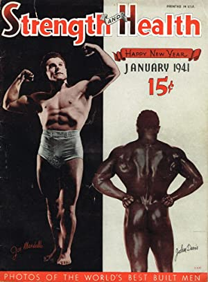 Strength and Health: The Self-Improvement Magazine. January, 1941: Bob Hoffman (ed.)