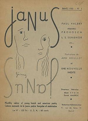 Janus, Numero 1, Mars (March) 1950: Stein, Elliott and