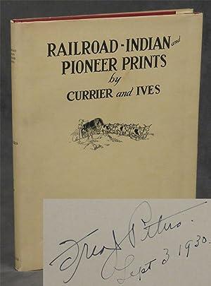 Railroad, Indian and Pioneer Prints by N.: Peters, Fred J.;