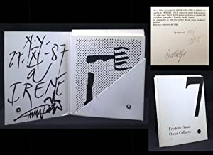 Frederic Amat, Oscar Collazos: A Laia - Coleccion Tabelaria No. 7 (limited, signed, inscribed): ...