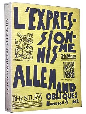 Obliques n° 6-7 L'expressionnisme allemand