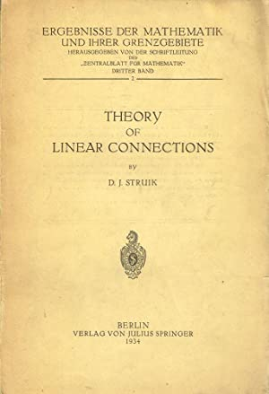 Theory of Linear Connections: Struik, Dirk Jan