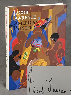 Jacob Lawrence: American Painter -- Inscribed by: Wheat, Ellen Harkins;