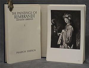 The Paintings of Rembrandt, 630 plates in 2 portfolios: Rembrandt van Rijn; Bredius, A. (ed.)