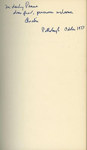 New and Collected Poems 1917-1976: MacLeish, Archibald