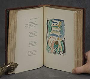 Oeuvres de Arthur Rimbaud, in Rene Kieffer binding with 45 original watercolors by Aizik Feder: ...