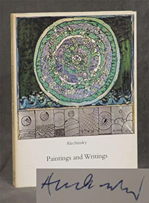 Alechinsky: Paintings and Writings -- inscribed by: Alechinsky, Pierre; Eugene