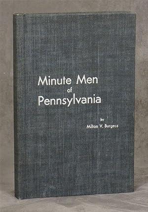 Minute Men of Pennsylvania: With a Brief: Burgess, Milton V.