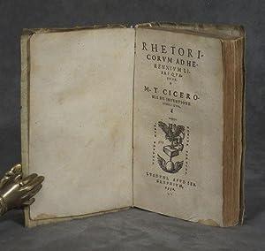 Rhetoricorum ad Herennium Libri quatour: Cicero, Marcus Tullius