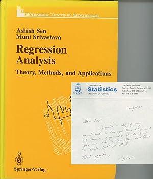 Regression Analysis: Theory, Methods, and Applications; Springer: Sen, Ashish; Muni