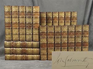 The Works of John Galsworthy, 21 volumes,: Galsworthy, John