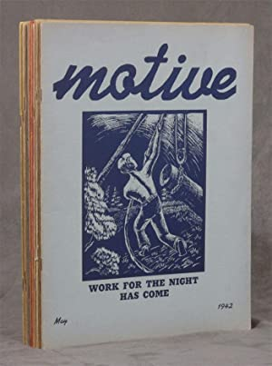 Motive, A Magazine of the Methodist Student Movement; 13 issues ranging from February 1941 to May ...