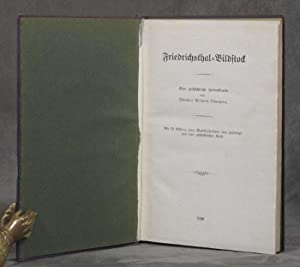 Friedrichsthal-Bildstock: Eine Geschichtliche Heimatkunde: Schaetzing, Wilhelm