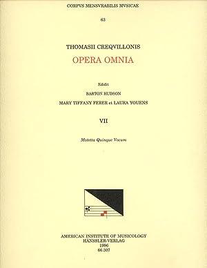 Thomas Crecquillon, Collected Works Volume VII: Motetta: Crecquillon, Thomas; Barton