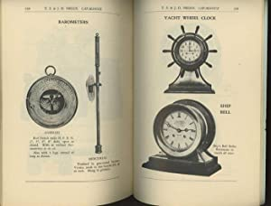 Negus Illustrated Catalogue of Nautical Instruments, S. B. Edition V.: Negus, T. S. and J. D.