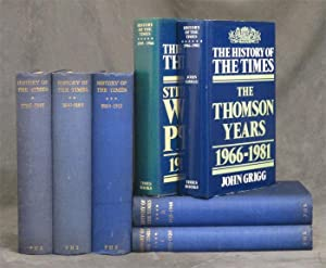 The History of The Times, 6 vols.: McDonald, Iverach; John