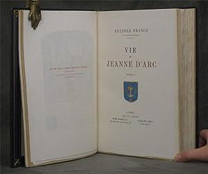 Vie de Jeanne d'Arc, 4 volumes: France, Anatole