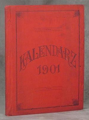 Kalendarz 1901; Pamiatka Srebrnego Jubileuszu; Parfii Sw.: Stanislawa Kostki w Pittsburgu, PA.; ...