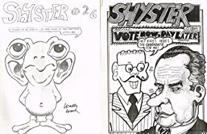 Thirteen Issues of Shyster Magazine, Including Numbers 6 and 26-40: Hegeman, Tom (Ed.)