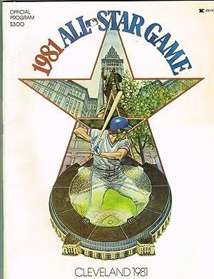 Official Program for the 1981 MLB All: Reichler, Joe (Ed.)