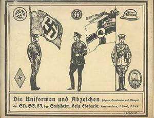 Die Uniformen und Abzeichen der SA, SS: Lebrecht, Georg; Vogler,