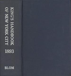 King's Handbook of New York City 1893: King, Moses; Santaniello,