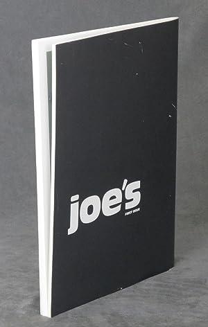 Joe's, first issue: Joe McKenna (ed.);