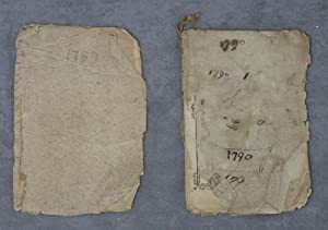 An Astronomical Diary or Almanack for 1790, with Incomplete Almanack for 1789: Low, Nathanael