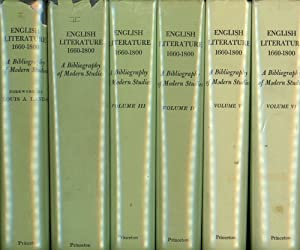 English Literature 1660-1800, A Bibliography of Modern Studies Compiled for Philological Quarterly....