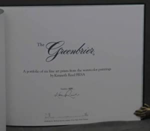 The Greenbrier: A Portfolio of Six Fine Art Prints from the Watercolor Paintings: Reed, Kenneth