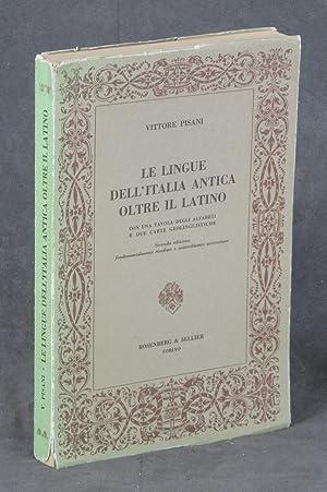 Le Lingue dell Italia Antica: Oltre il: Pisani, Vittore
