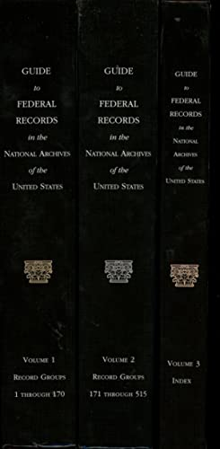 Guide to Federal Records in the National: Matchette, Robert B.;