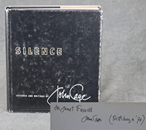 Silence: Lectures and Writings -- inscribed by: Cage, John