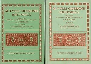 M. Tulli Ciceronis, Rhetorica, 2 vols.: Volume: Cicero; A. S.