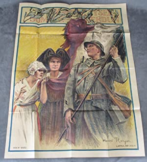 L'Aurore' French World War I Poster by Henri Royer: Royer, Henri