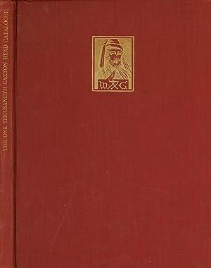 The One Thousandth Caxton Head Catalogue; Containing: Newton, A. Edward;
