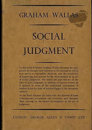 Social Judgment: Wallas, Graham