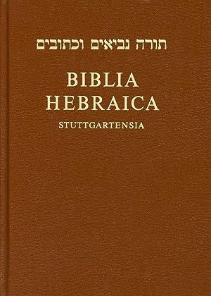 Biblia Hebraica Stuttgartensia; Editio Funditus Renovata; Quae: Elliger, K.; W.
