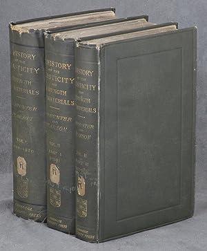 A History of the Theory of Elasticity: Todhunter, Isaac; Karl