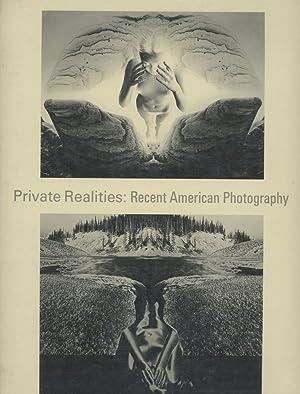 Private Realities: Recent American Photography: Gowin, Emmet; Wasserman,
