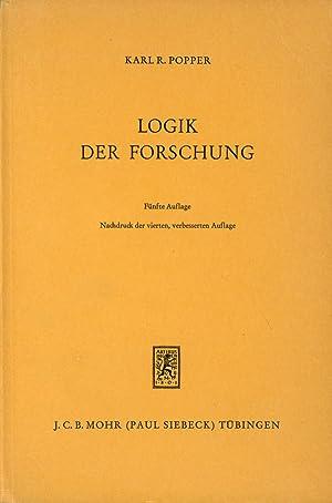 Der Kontext der Erkenntnis bei Karl Popper 'Logik …